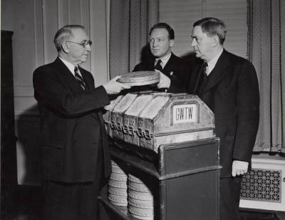 Photograph of First Archivist